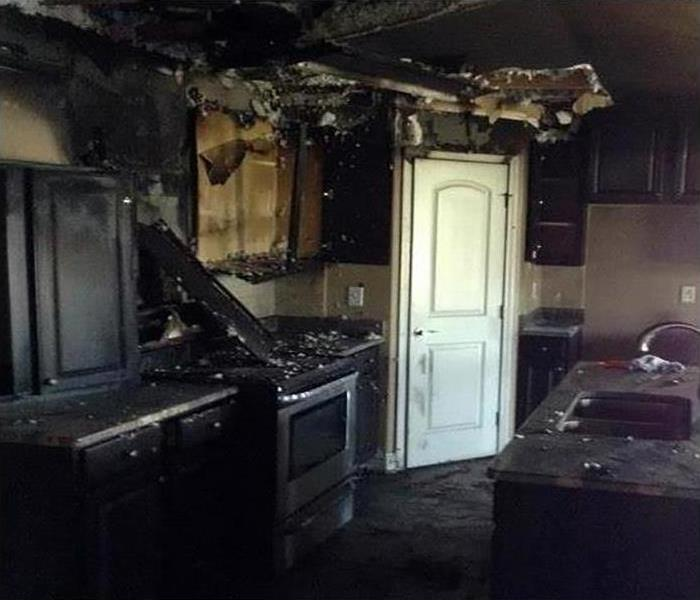 Fire Damage Repair and Restoration In Little Rock Before