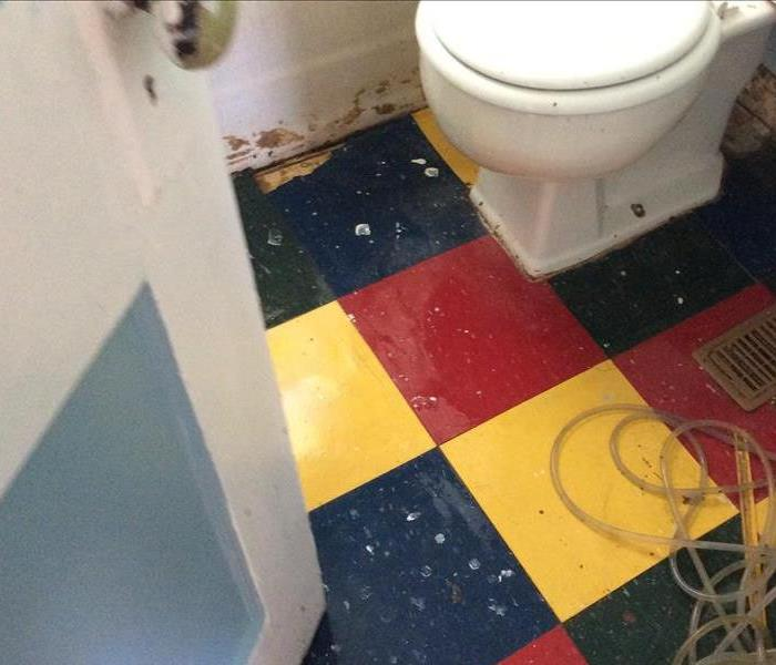 Daycare Sewage Damage After