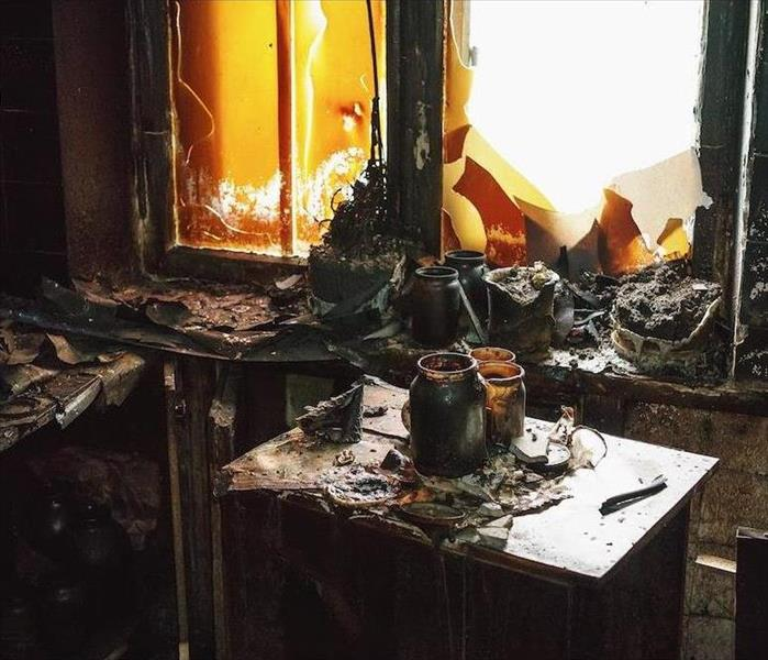Fire Damage Removing Soot, Smoke and Staining From Your Ferndale Home After Fire Damage