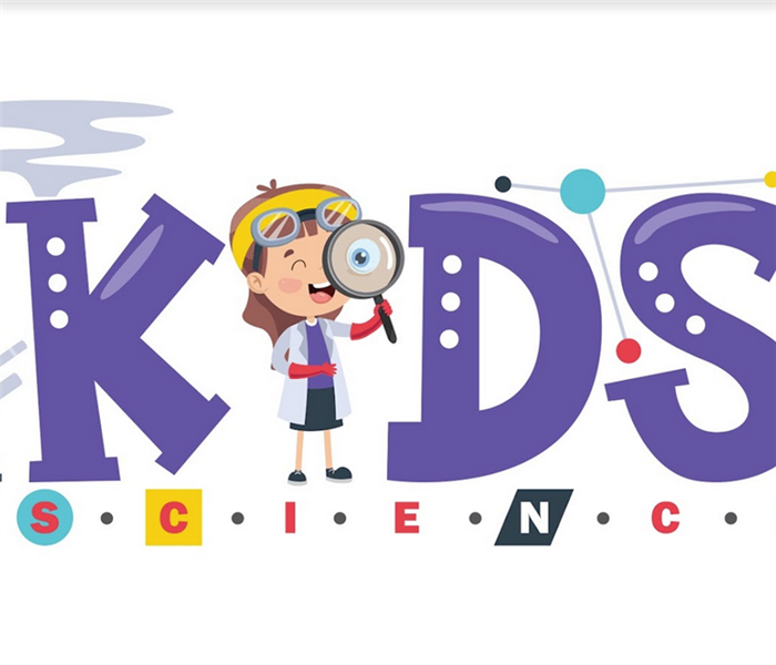 a logo for kids science